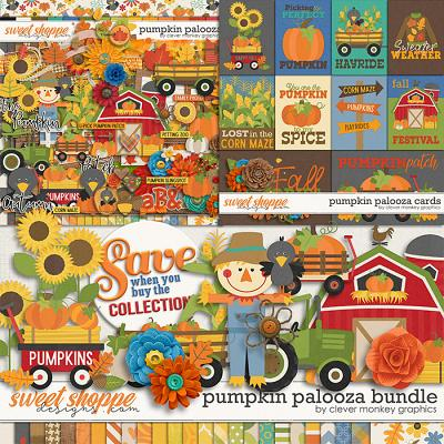 Pumpkin Palooza Bundle by Clever Monkey Graphics