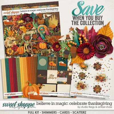 Beleive in Magic: Celebrate Thanksgiving Collection by Amber Shaw & Studio Flergs