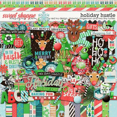 Holiday Hustle by Shawna Clingerman, Red Ivy Design and Two Tiny Turtles
