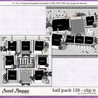Cindy's Layered Templates - Half Pack 126: Clip It  by Cindy Schneider