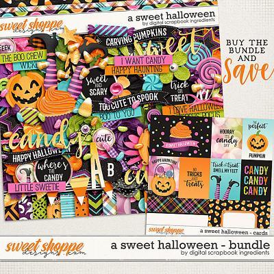 A Sweet Halloween Bundle by Digital Scrapbook Ingredients