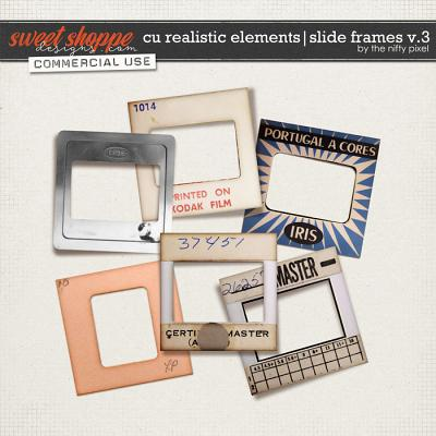 CU REALISTIC ELEMENTS | SLIDE FRAMES V.3 by The Nifty Pixel