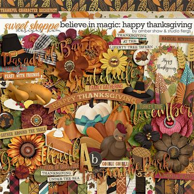 Believe in Magic: Happy Thanksgiving by Amber Shaw & Studio Flergs
