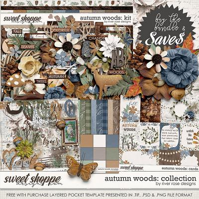 Autumn Woods: Collection + FWP by River Rose Designs