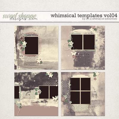 Whimsical Templates Vol04 by On A Whimsical Adventure