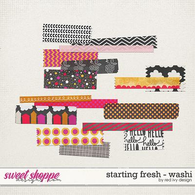 Starting Fresh - Washi by Red Ivy Design
