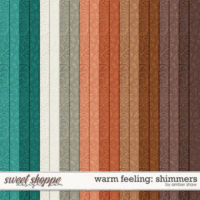 Warm Feeling Shimmers by Amber Shaw