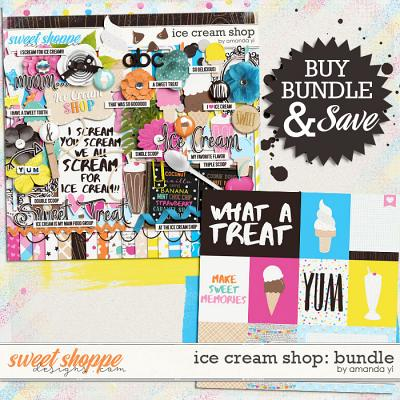 Ice Cream Shop: Bundle by Amanda Yi