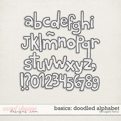 Basics - Doodled Alphabet by Sugary Fancy