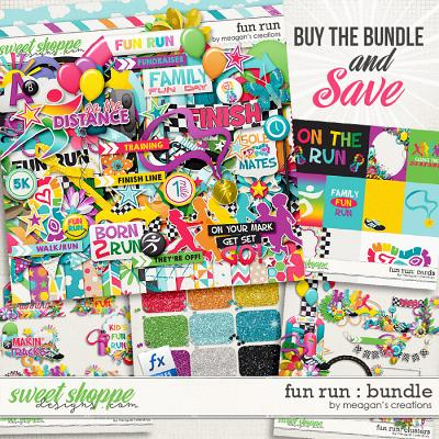 Fun Run Collection Bundle by Meagan's Creations