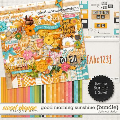 Good Morning Sunshine {Bundle} by Digilicious Design