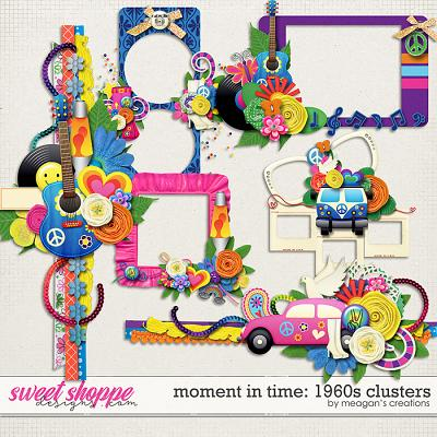 Moment in Time: 1960s Clusters by Meagan's Creations