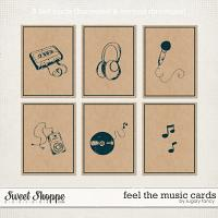Feel the Music Cards by Sugary Fancy