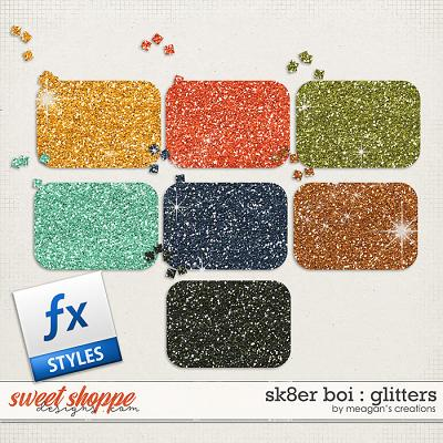 Sk8er Boi: Glitters by Meagan's Creations