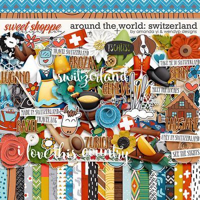 Around the world: Switzerland by Amanda Yi & WendyP Designs