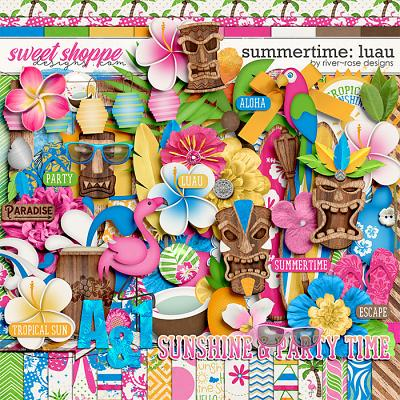 Summertime: Luau by River Rose Designs