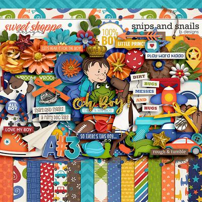 Snips and Snails by LJS Designs
