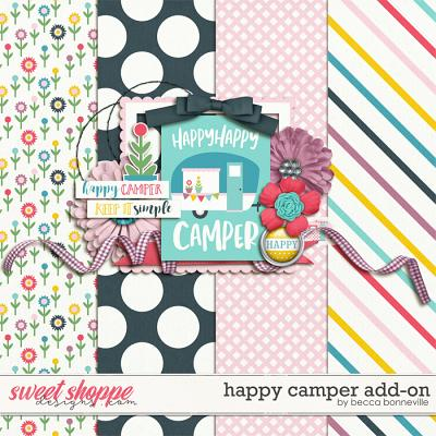 Happy Camper Add-On by Becca Bonneville