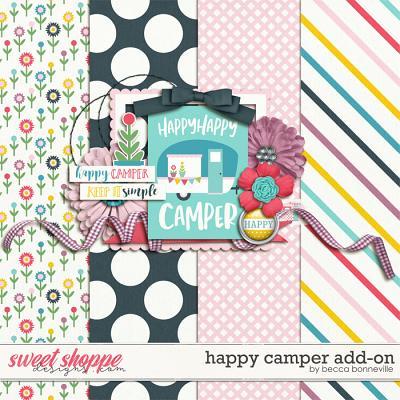 Happy Camper Add-On by Becca Bonneville