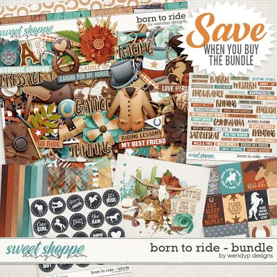 Born to ride - Bundle by WendyP Designs
