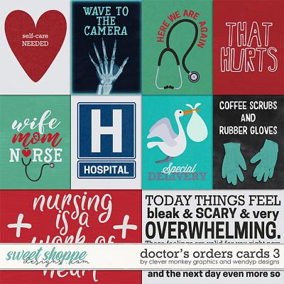 Doctor's Orders - cards 3 by Clever Monkey Graphics & WendyP Designs