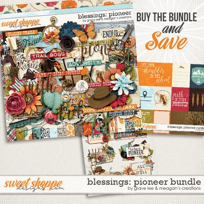 Blessings: Pioneer Bundle by Grace Lee and Meagan's Creations