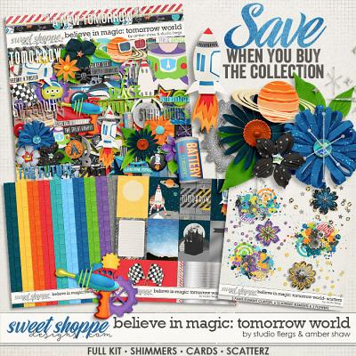 Believe in Magic: Tomorrow World Collection by Amber Shaw & Studio Flergs