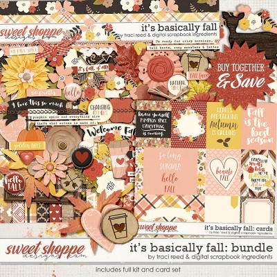 It's Basically Fall Bundle by Traci Reed & Digital Scrapbook Ingredients