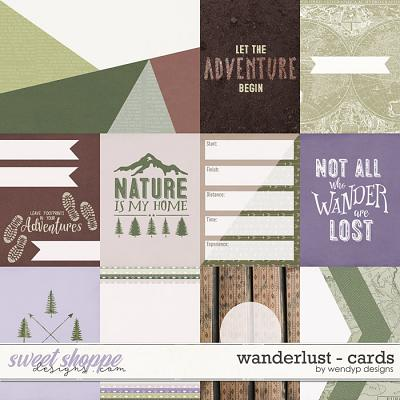 Wanderlust - Cards by WendyP Designs
