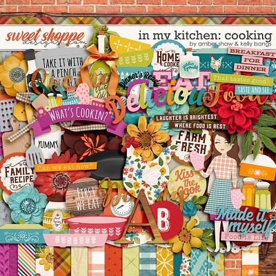 In My Kitchen: Cooking by Amber Shaw and Kelly Bangs Creative