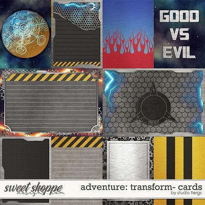 Adventure: Transform- CARDS by Studio Flergs