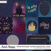 #believeinmagic: Sundown Spectacular Cards by Amber Shaw & Studio Flergs
