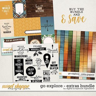 Go Explore | Extras Bundle by Digital Scrapbook Ingredients