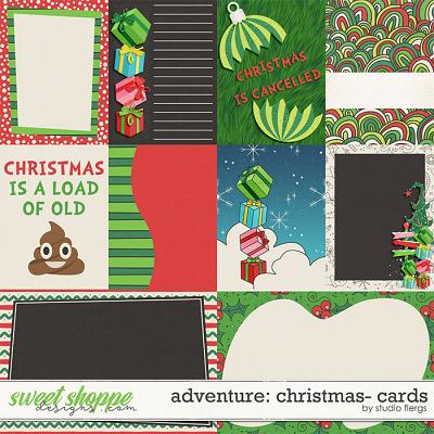 Adventure: Christmas- CARDS by Studio Flergs