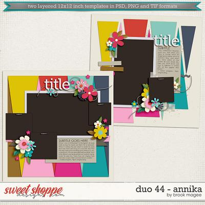 Brook's Templates - Duo 44 - Annika by Brook Magee
