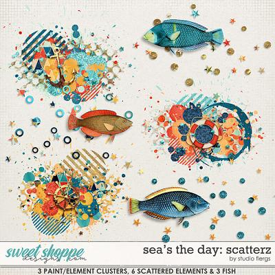 Sea's the Day: SCATTERZ by Studio Flergs