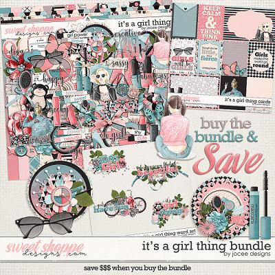 Its a Girl Thing Bundle by JoCee Designs