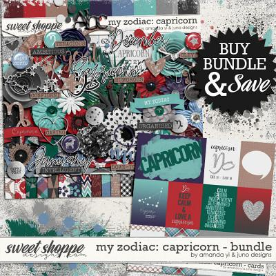 My Zodiac - Capricorn : Bundle by Amanda Yi & Juno Designs