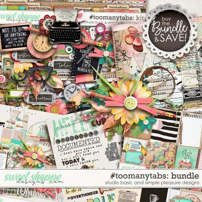 #toomanytabs Bundle by Simple Pleasure Designs and Studio Basic