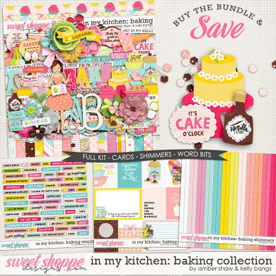 In My Kitchen: Baking Bundle by Amber Shaw and Kelly Bangs Creative