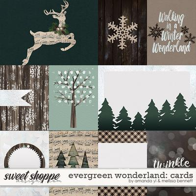 Evergreen Wonderland Cards by Amanda Yi & Melissa Bennett