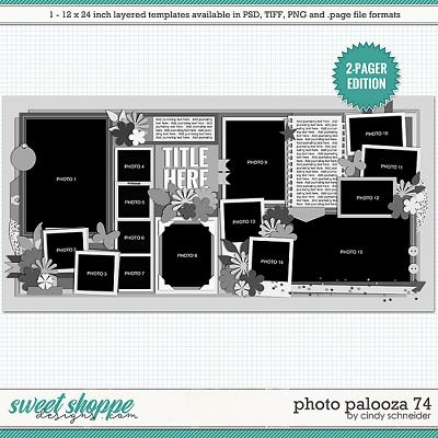 Cindy's Layered Templates - Photo Palooza 74 by Cindy Schneider