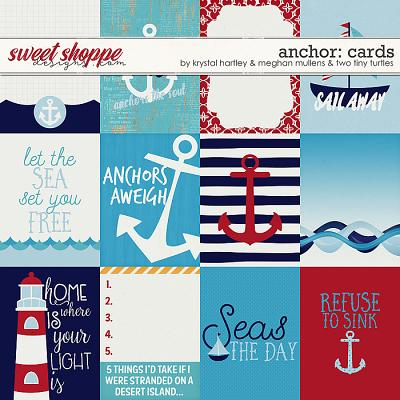 Anchor Journal Cards by Krystal Hartley, Meghan Mullens and Two Tiny Turtles