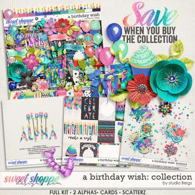 A Birthday Wish: COLLECTION by Studio Flergs