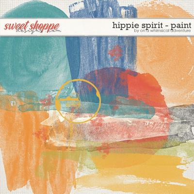 Hippie Spirit Paint by On A Whimsical Adventure