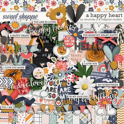 A Happy Heart by Amanda Yi Designs & Meghan Mullens