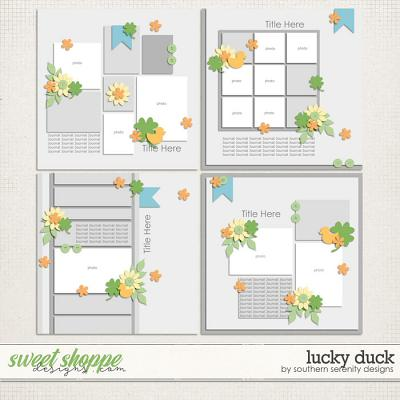 Lucky Duck Layout Templates by Southern Serenity Designs