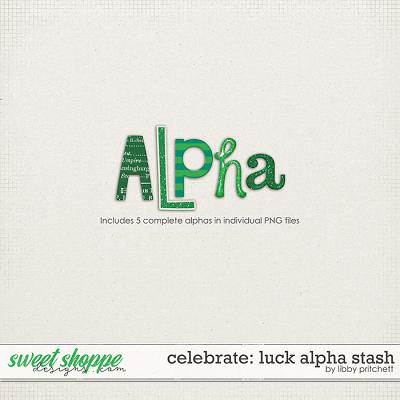 Celebrate: Luck Alpha Stash by Libby Pritchett