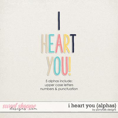 I Heart You Alphas by Ponytails