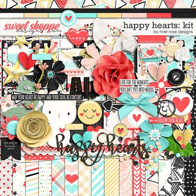 Happy Hearts: Kit by River Rose Designs